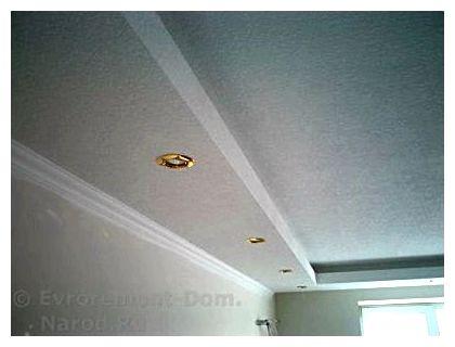 Освещение на подвесном потолке своими руками