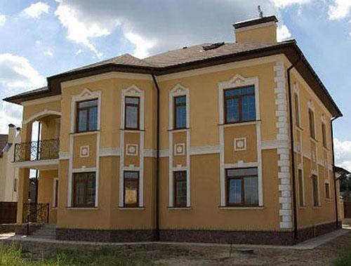 Фасады домов частных своими руками фото 290